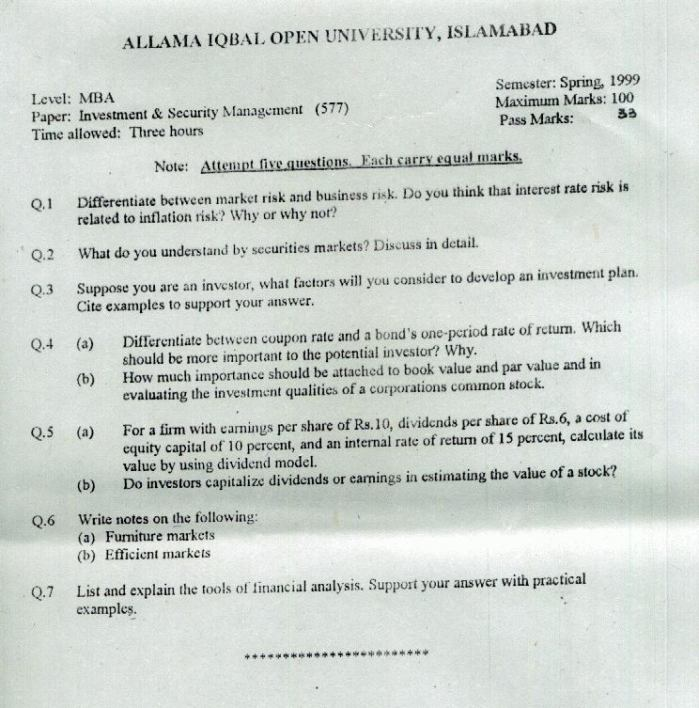 assignment paper aiou Aiou solved assignments key books guess papers old papers five year papers information about aiou admissions tutor addresses roll number slips assignments marks paper.